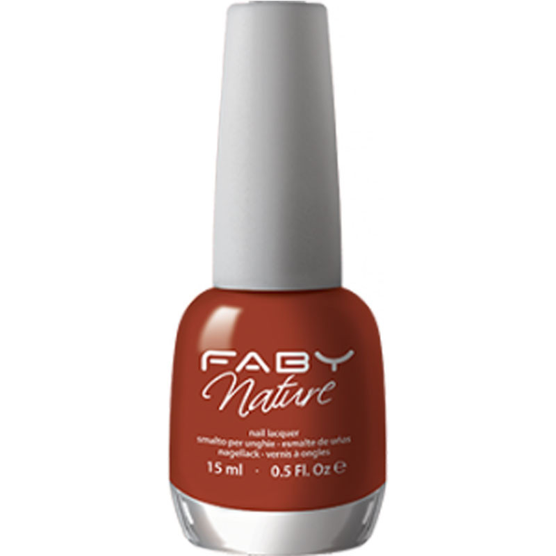 faby nature cinnamon mani smalti ingredienti bio vegetale naturale colore vivo luminoso