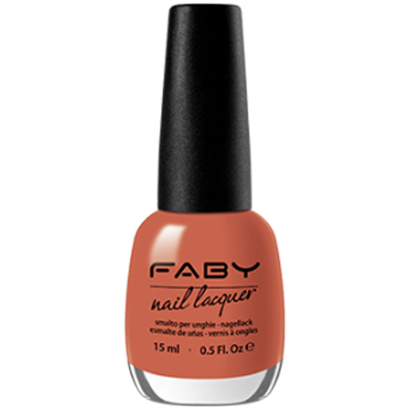 faby nail lacquer lobster salad smalti mani unghie naturale colore vivo luminoso