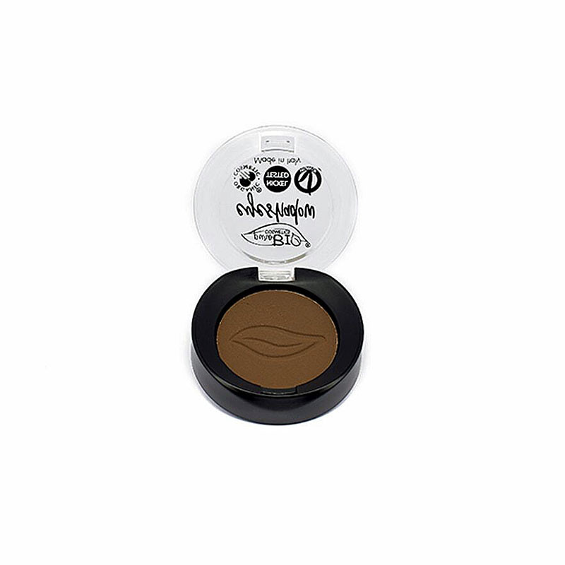 purobio ombretto in cialda marrone freddo n°14 cosmetici make up occhi