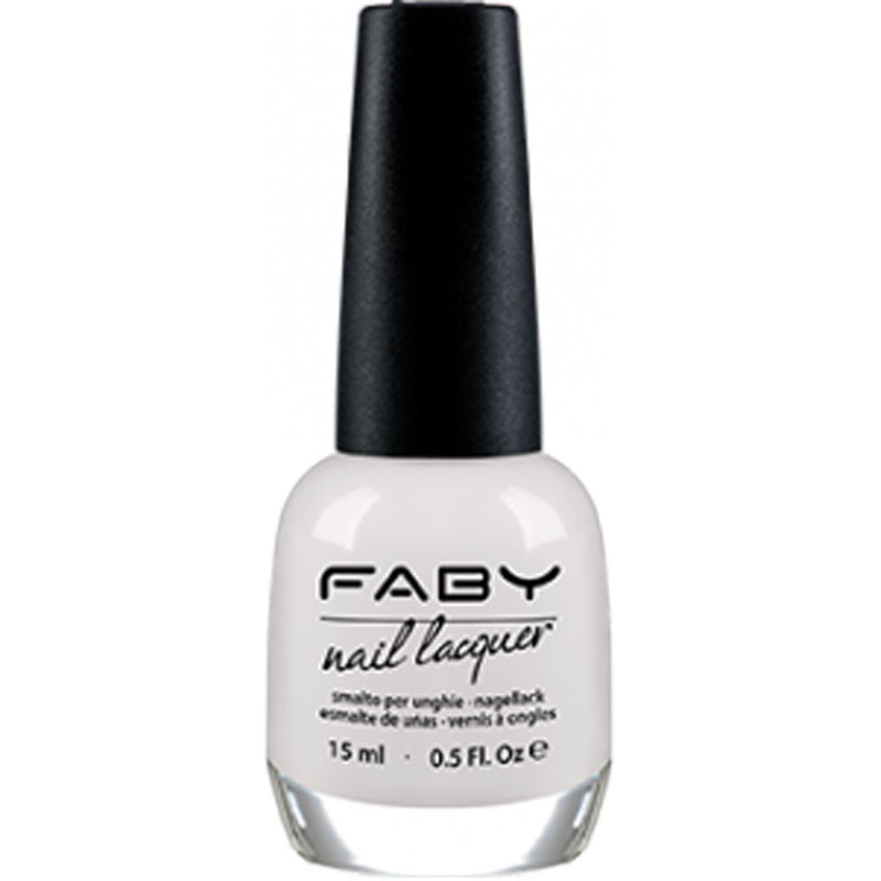 FABY NAIL LACQUER Optical White