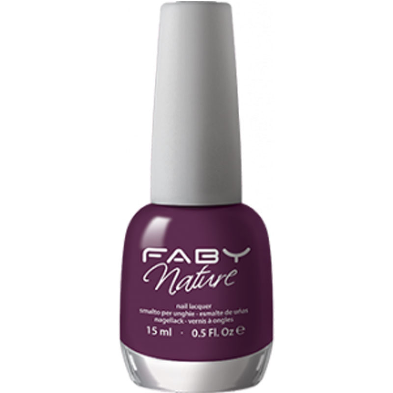 faby nature orchid mani smalti ingredienti bio vegetale naturale colore vivo luminoso