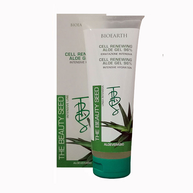 bioearth cell renewing aloe gel 96% idratazione intensiva